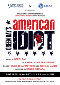 American Idiot Musical Poster